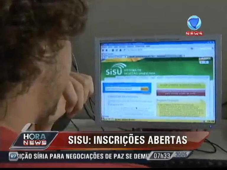 Sisu tem inscrições abertas com mais de 56 mil vagas - Record ...