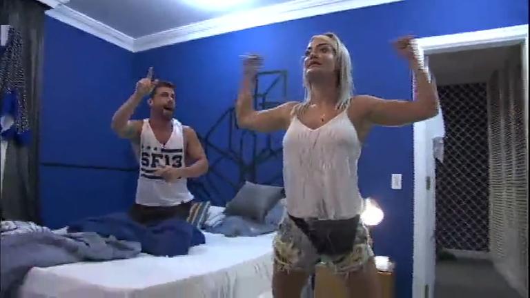 Laura e Jorge deixam competidores com nervos à flor da pele no Power Couple