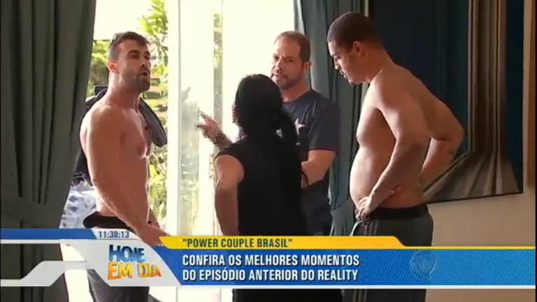 Barraco esquenta o clima para o episódio de Power Couple Brasil desta terça (31)