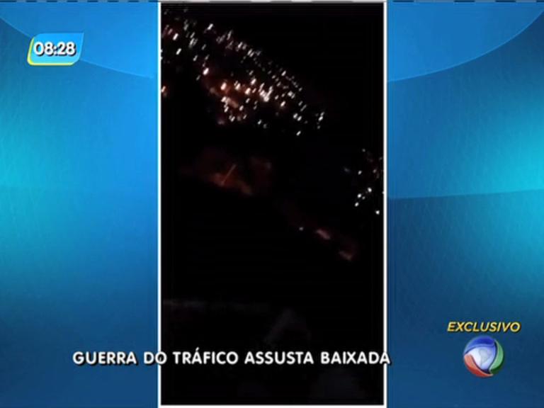 Tiroteio entre traficantes assusta moradores da Baixada Fluminense ...
