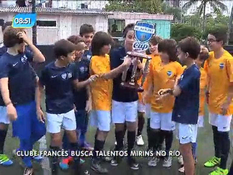 Clube francês, Paris Saint- Germain busca talentos mirins no Rio ...