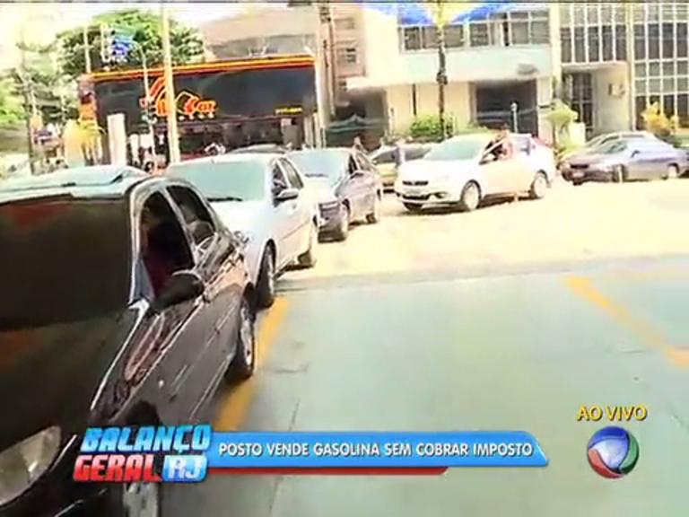 Posto vende gasolina livre de impostos, por R$ 1,69 e motoristas ...