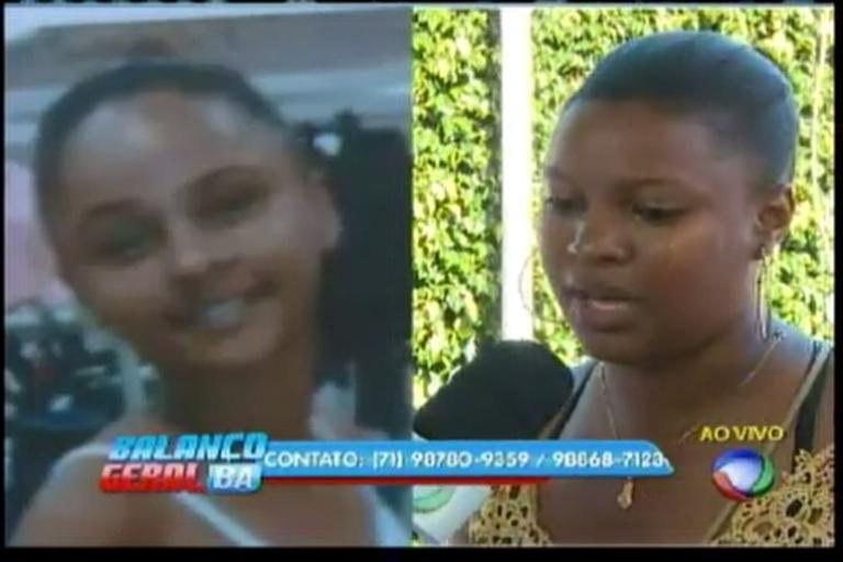 Verônica procura filha desaparecida - Bahia - R7 Balanço Geral BA
