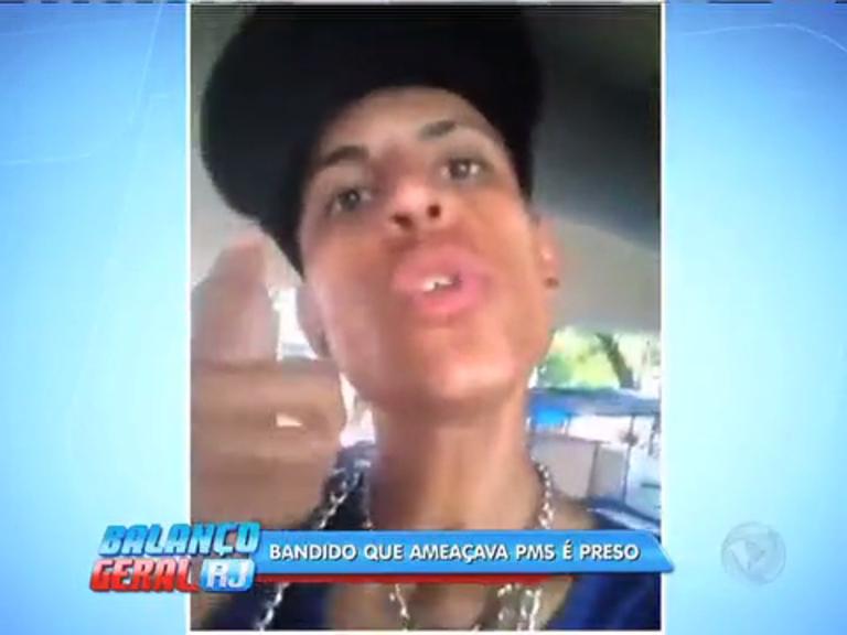 """Criminoso posta vídeo prometendo """"fazer a limpa"""" e é preso em ..."""