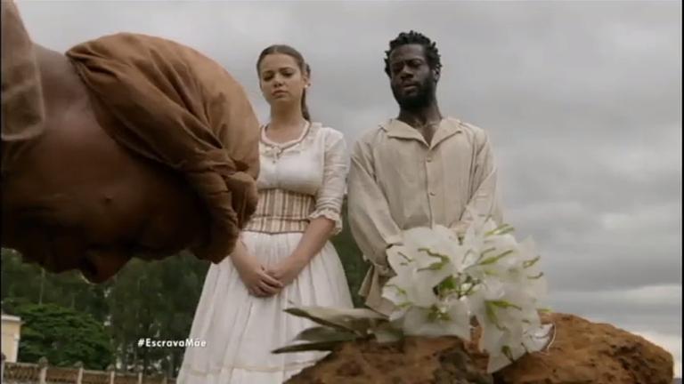 Osório encontra Filipa entre os escravos e fica furioso ...