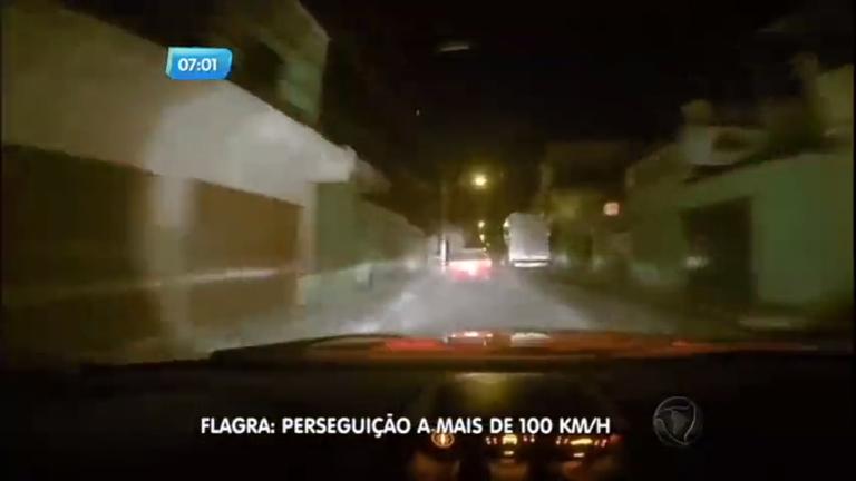 Policiais filmam perseguição a mais de 100 km/h em Contagem (MG ...