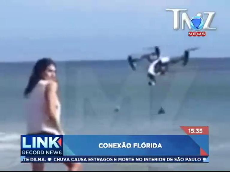 Conexão Flórida: saiba quais os riscos dos 'drones' - Record News ...