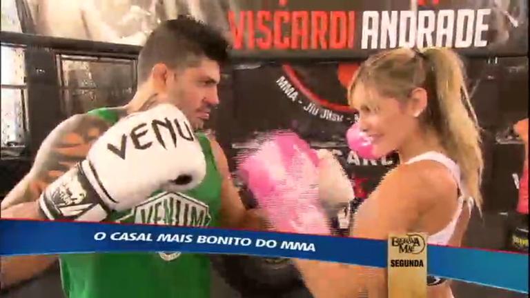 Conheça o casal considerado o mais bonito do MMA - Esportes - R7 ...