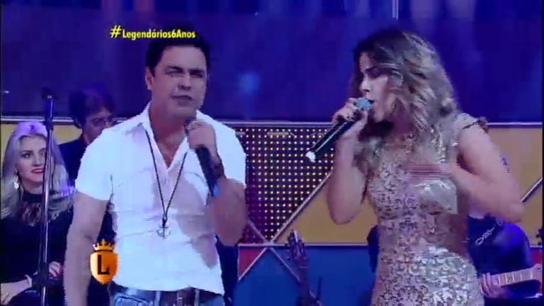 Zezé Di Camargo e Wanessa emocionam ao cantarem juntos no ...