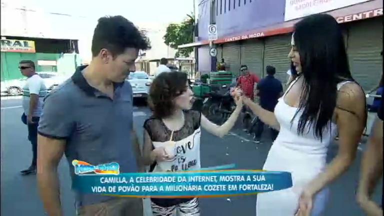 Milionária Cozete Gomes encara um Dia de Pobreza com a ...