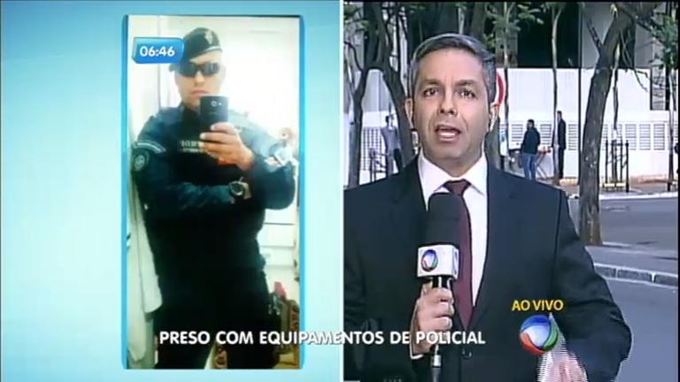 Falso policial é preso em Brasília - Notícias - R7 Balanço Geral Manhã