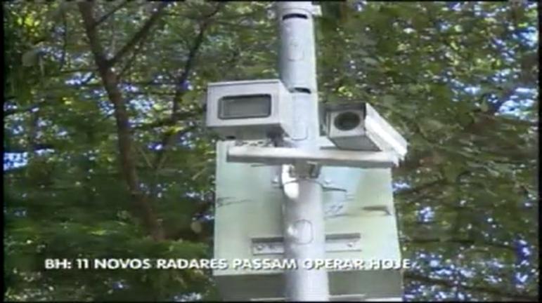 Ruas de BH ganham mais 11 radares de avanço de sinal e faixa de ...