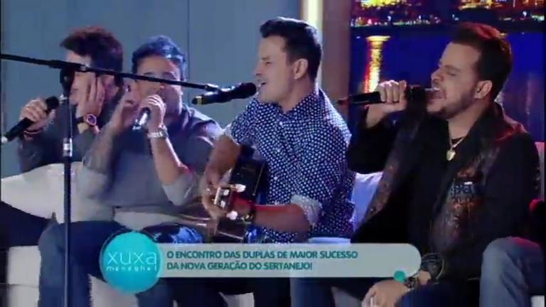 João Neto e Frederico cantam o sucesso Tá Combinado com ...