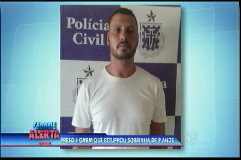 Preso homem que estuprou sobrinha de 9 anos - Bahia - R7 Cidade ...