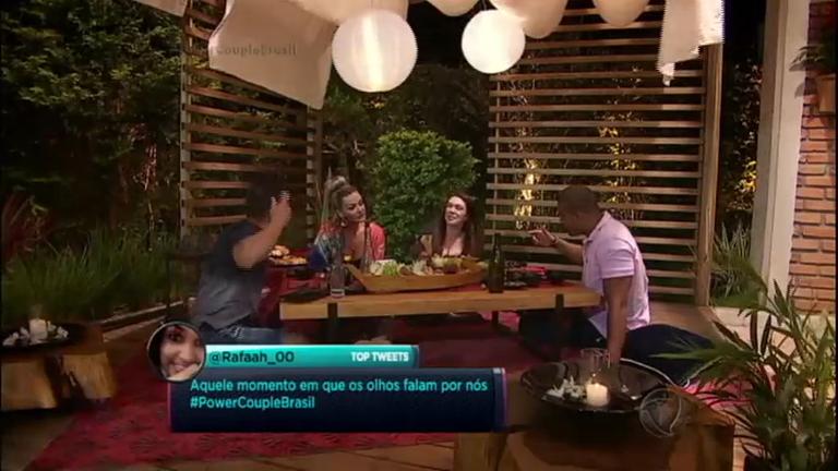Simony e Patrick formam aliança com Laura e Jorge para ir à final ...
