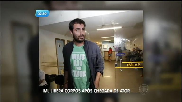 IML do Rio de Janeiro libera corpos após chegada de ator Thiago ...