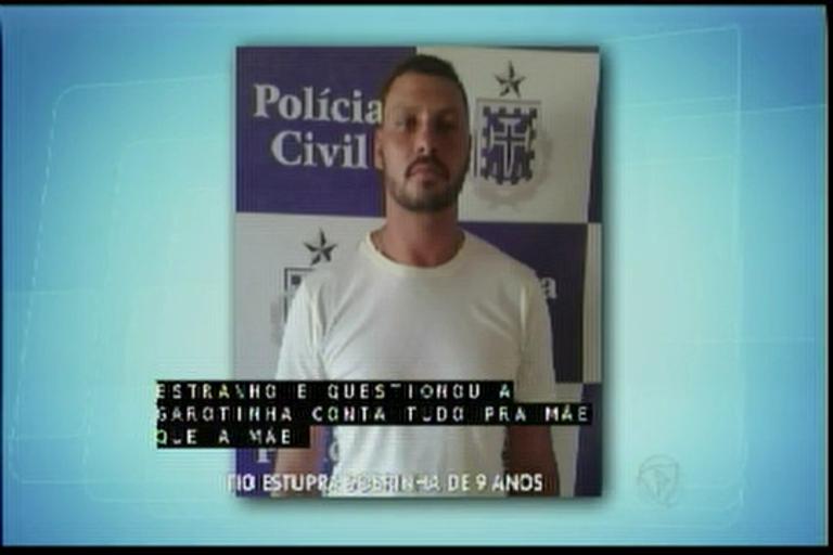 Tio é acusado de estuprar sobrinha de 9 anos - Bahia - R7 Balanço ...