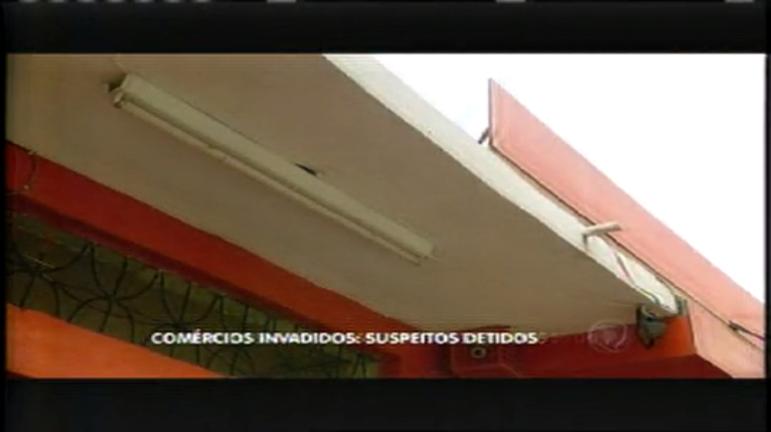 Ladrões são presos após assaltar comércios na mesma rua - Minas ...