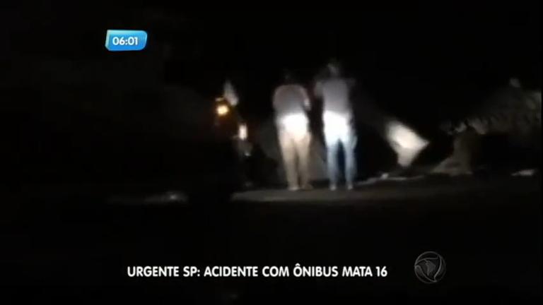 Tragédia: acidente de ônibus mata universitários na rodovia Mogi ...
