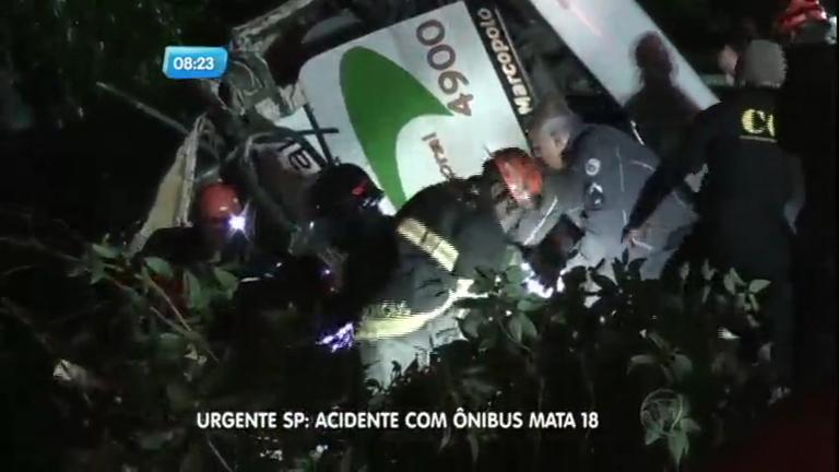 Ônibus com universitários sofre acidente na Mogi-Bertioga e 18 ...