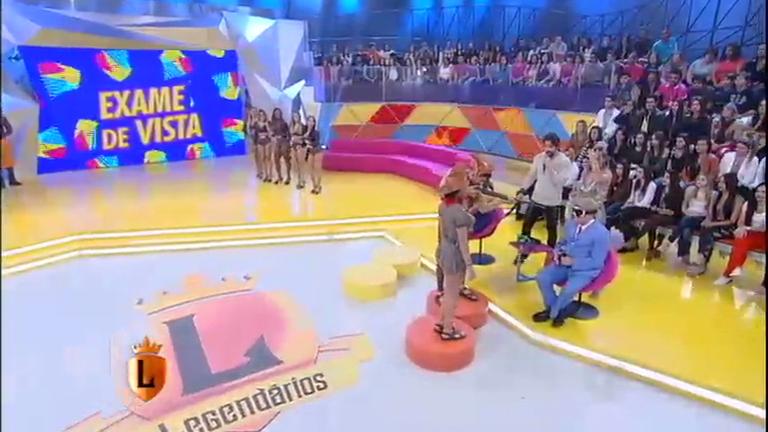 Robson Bailarino e Filipe Pontes se enfrentam no Exame de Vista ...