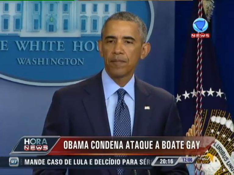 Obama condena ataca em boate gay e se solidariza com ...