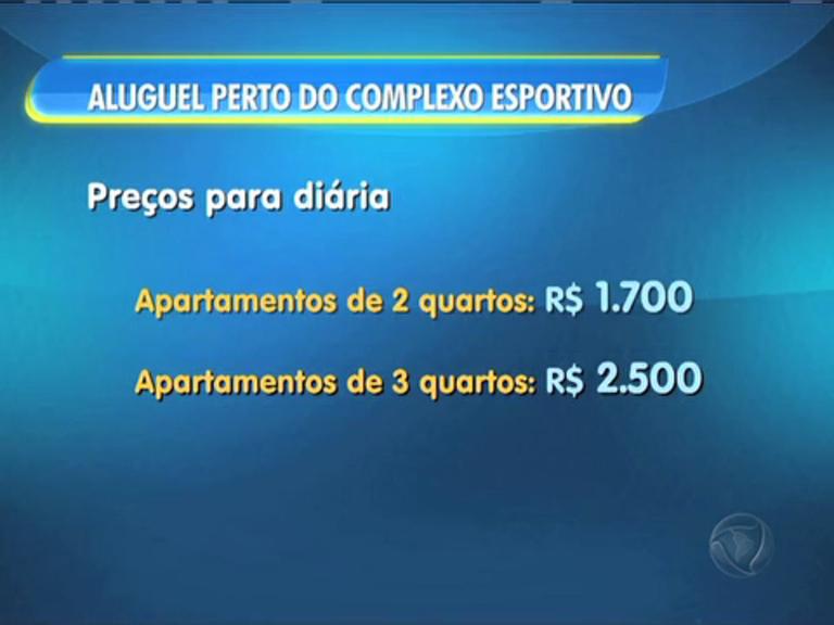 Cariocas alugam apartamentos próximos do Parque Olímpico com diárias de até R$ 2.500