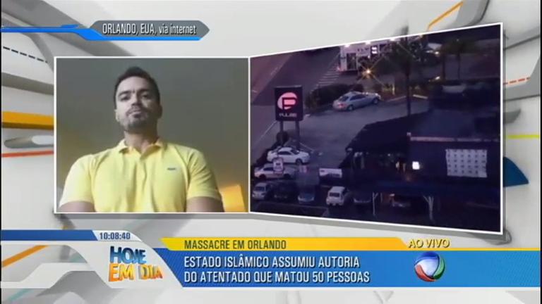 Brasileiro conta como escapou de atentado em Orlando ( EUA ...