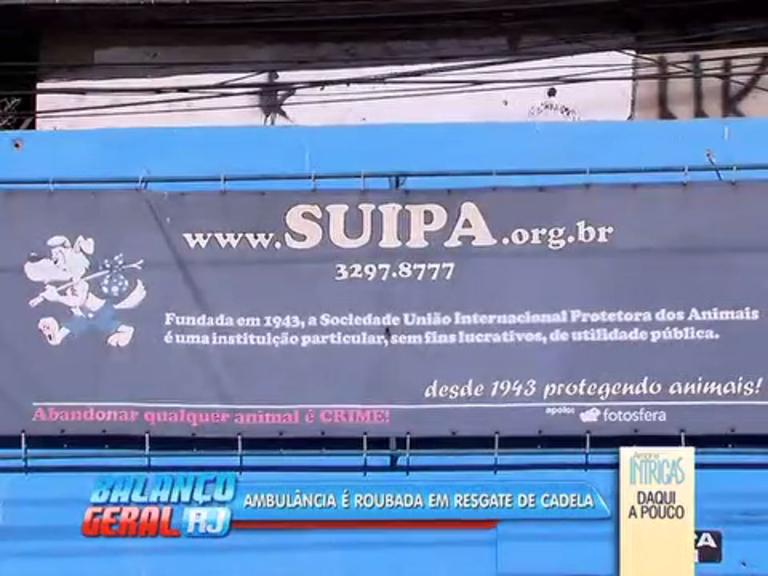 Ambulância da Suipa é roubada pela segunda vez em menos de 14 ...