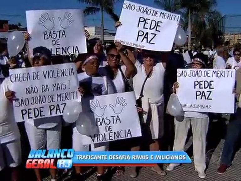 Moradores de São João de Meriti protestam contra violência - Rio ...
