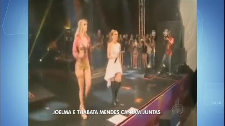 Hora da Venenosa: Joelma e Thábata cantam juntas - Notícias - R7 ...