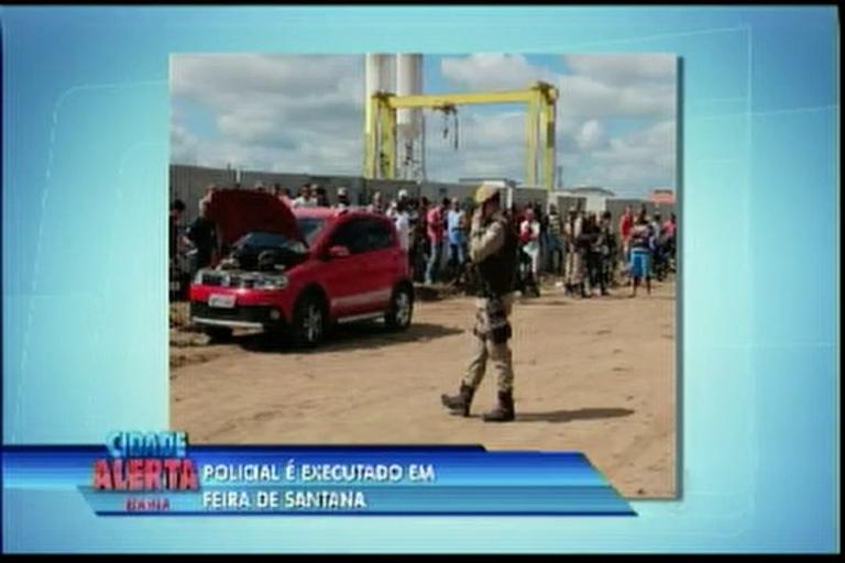 Policial é executado em Feira de Santana - Bahia - R7 Cidade ...