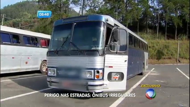 Perigo nas estradas: ônibus irregulares colocam passageiros em risco