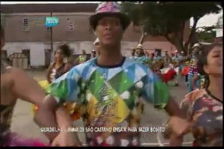 Quadrilha Junina de São Caetano ensaia para fazer bonito - Bahia ...