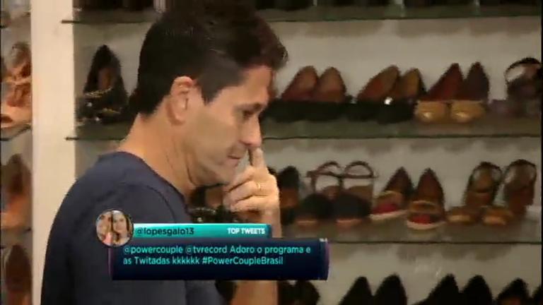 Em desafio, homens precisam provar que conhecem os sapatos de ...