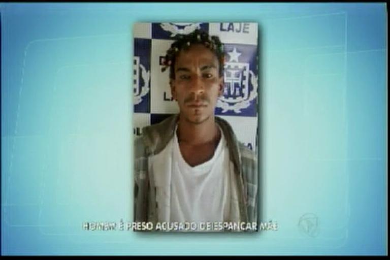Homem é preso acusado de espancar mãe - Bahia - R7 Balanço ...