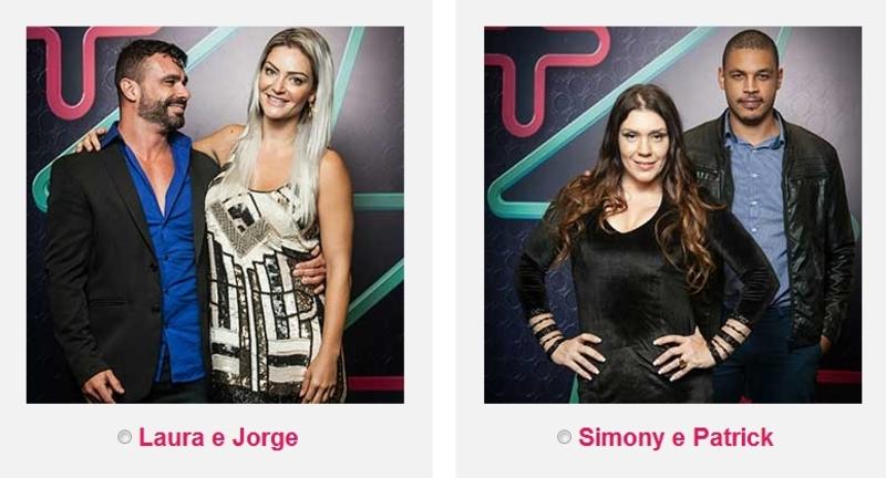 Laura e Jorge ou Simony e Patrick? Casais finalistas do Power ...