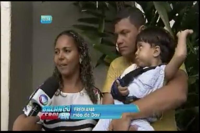 O drama do pequeno Davi que fratura ossos facilmente - Bahia - R7 ...