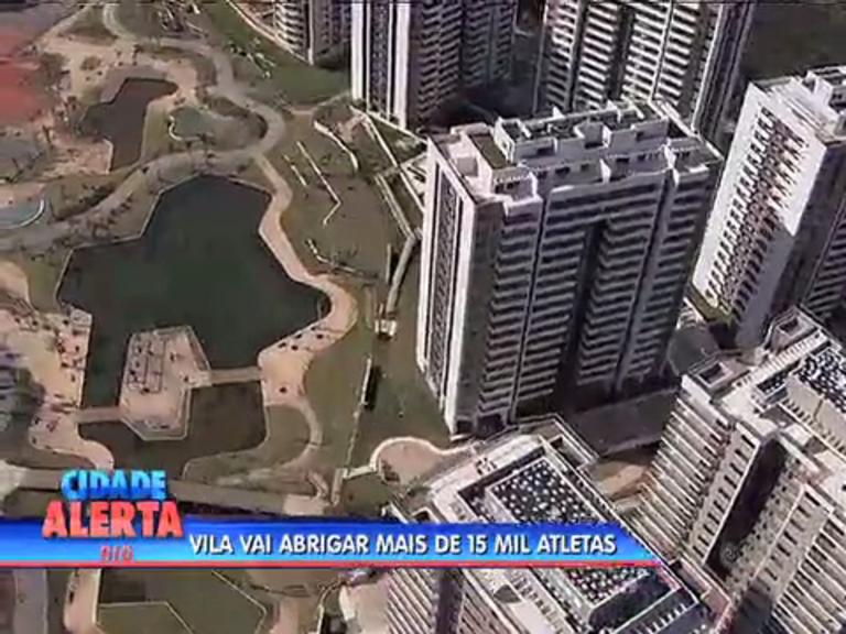 Vila Olímpica é entregue ao Comitê Organizador dos Jogos Olímpicos