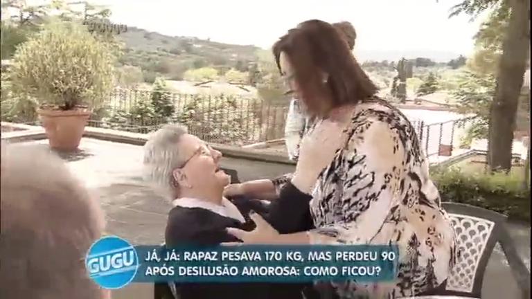 Após 50 anos na Itália, idosa reencontra irmã que ficou no Brasil ...