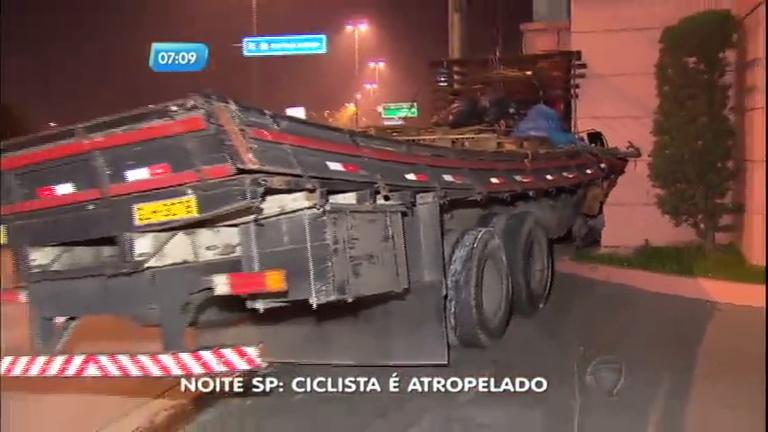 Caminhoneiro bêbado atropela ciclista na zona leste de São Paulo ...