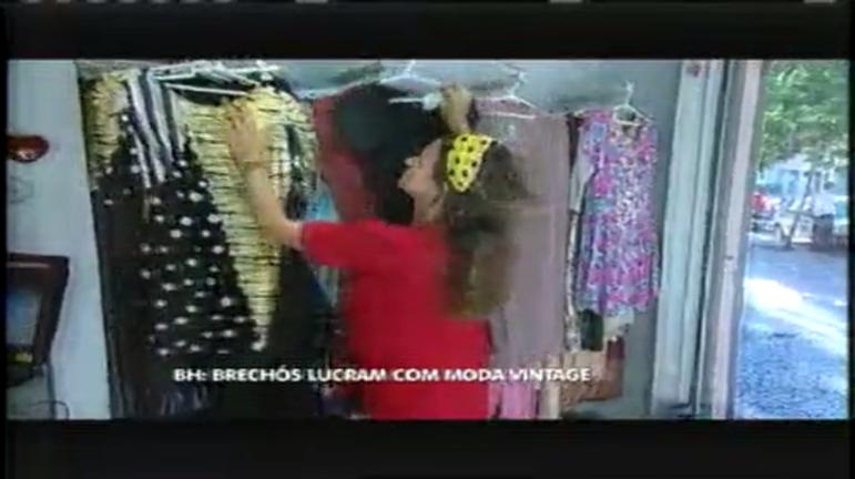 Brechós de BH lucram com moda vintage - Notícias - R7 Minas Gerais