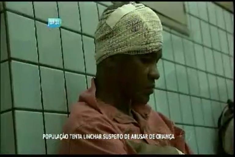 População tenta linchar suspeito de abusar de criança - Bahia - R7 ...