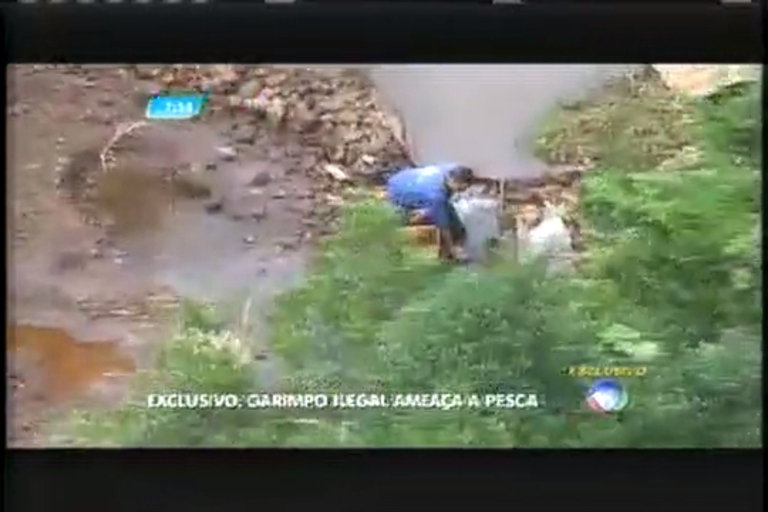 Exclusivo: Garimpo ilegal ameça pesca no Rio Doce