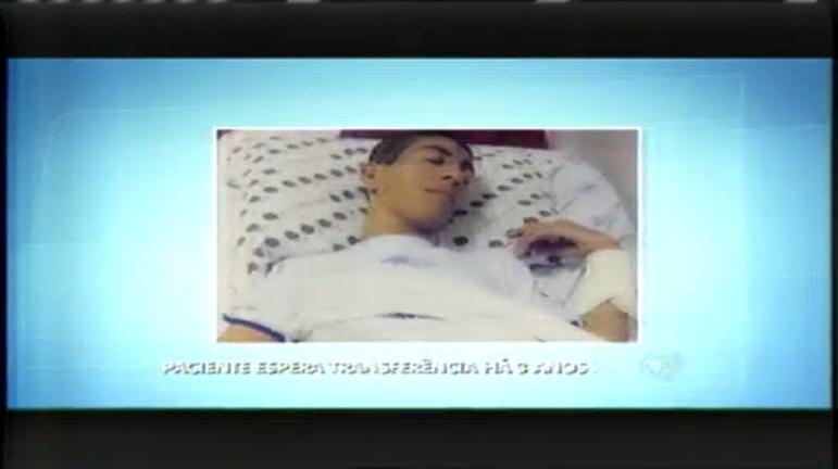 Paciente espera por transferência há três anos