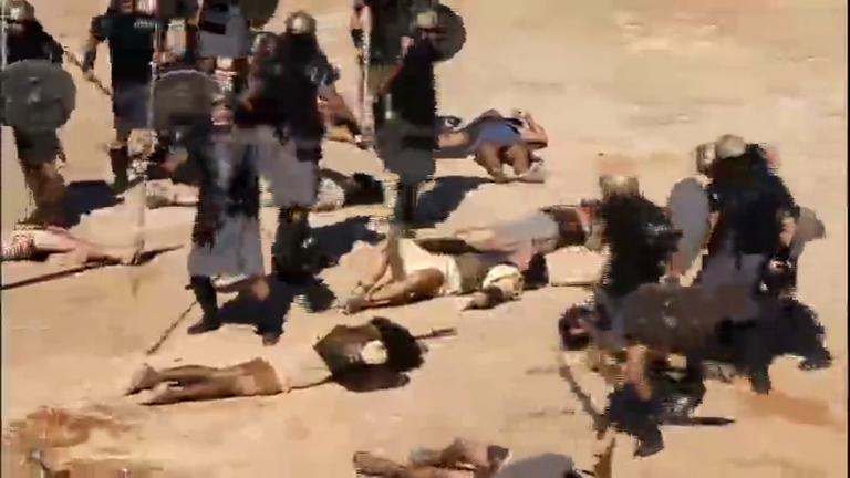 Hebreus são derrotados pelos soldados cananeus - Entretenimento ...
