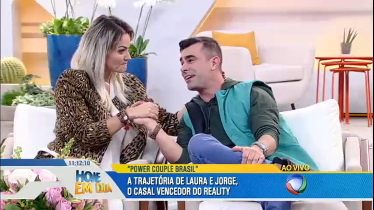 Laura e Jorge falam tudo o que viveram no Power Couple Brasil e ...