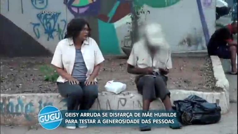 Geisy Arruda se disfarça para testar a generosidade das pessoas ...
