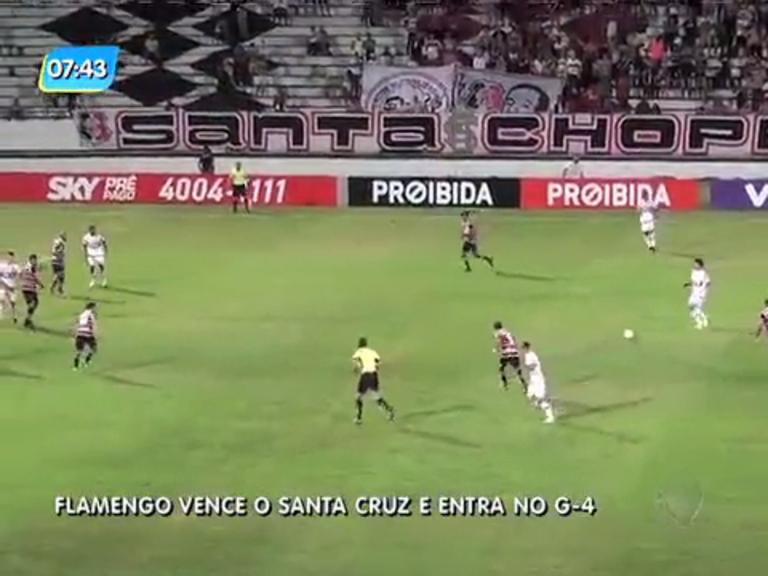 Flamengo vence Santa Cruz com gol de Willian Arão - Rio de ...