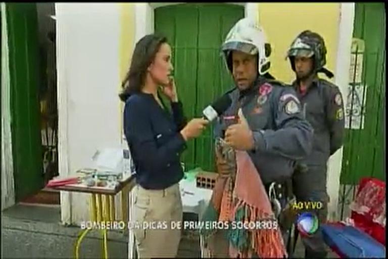 Festas Juninas: Bombeiros dá dicas de primeiros socorros - Bahia ...